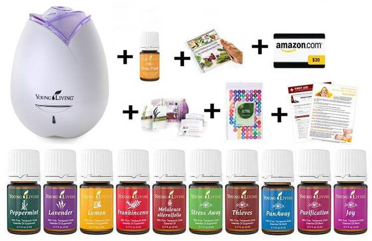 Young Living Essential Oils - Starter Kit | How Does She