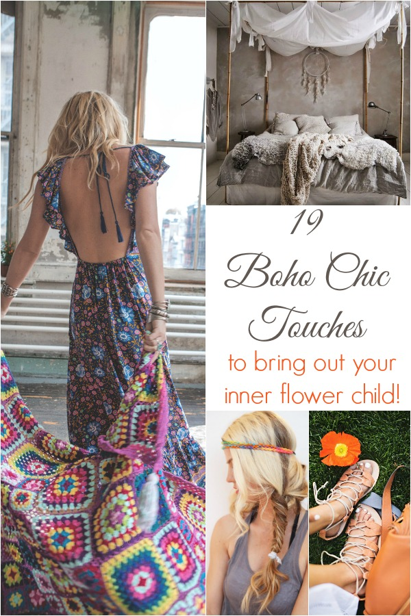Boho Chic Touches