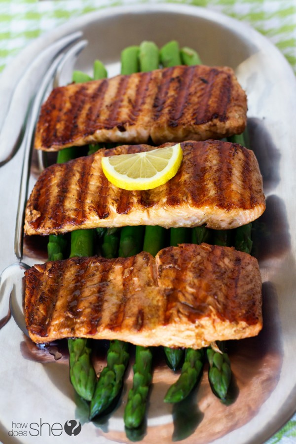 Easy 3 ingredient grilled salmon (6)
