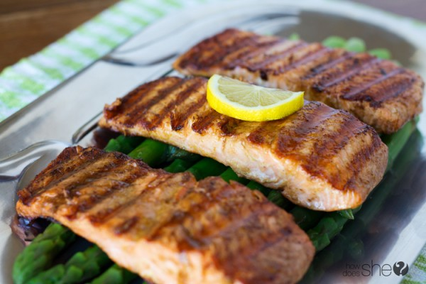 Easy 3 ingredient grilled salmon (7)