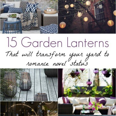 15 Garden Lanterns that Will Transform Your Yard