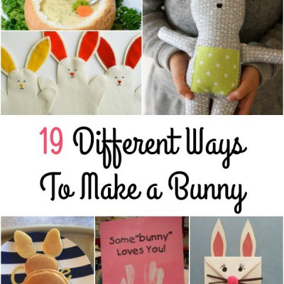 19 Different Ways To Make a Bunny