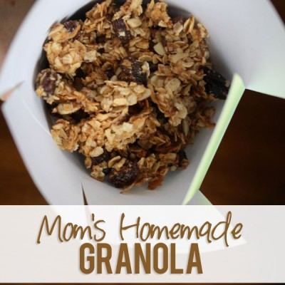 Mom's Homemade Granola You Don't Want to Miss!