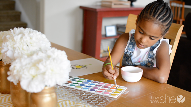 Quiet Activities focused on art for kids