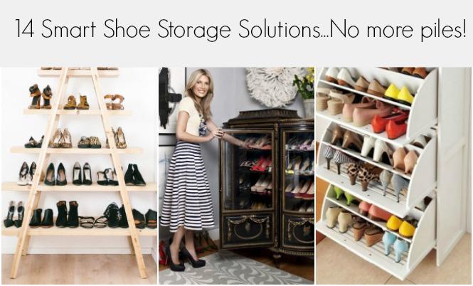 14 Smart Shoe Storage Solutions No More Piles How
