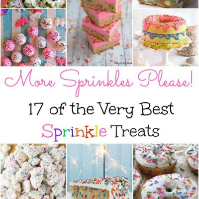 17 of the Very Best Sprinkle Treats