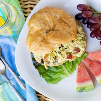 Sweet and Easy Chicken Salad Sandwiches:  Great for a crowd!