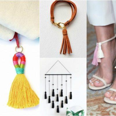 15 Pretty Little Tassel DIYs