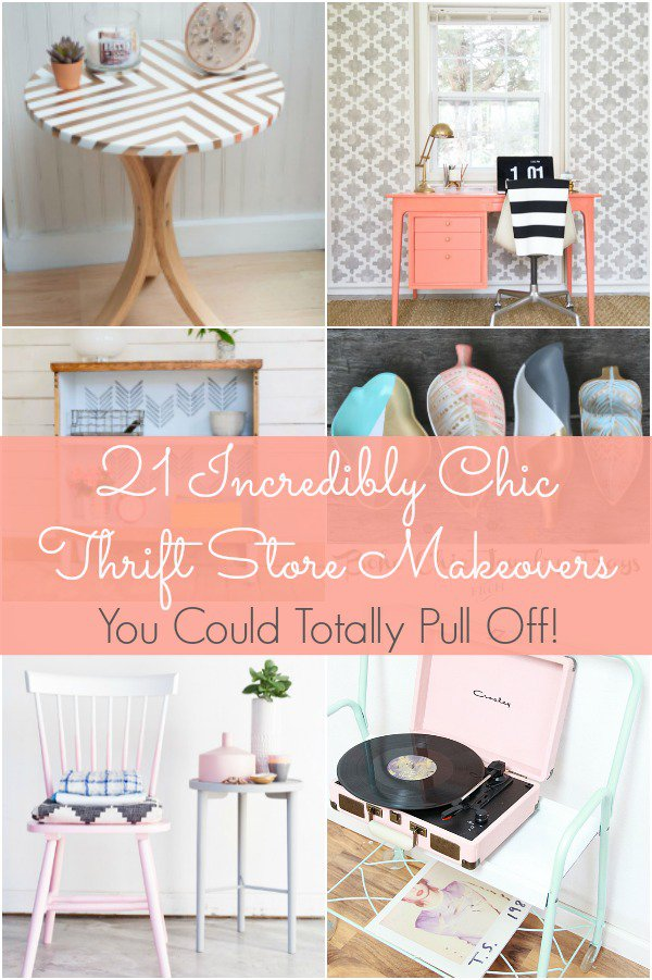 New 21 Incredibly Chic Thrift Store Makeovers You Could Totally Pull  XV78
