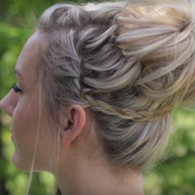 Waterfall Bun Updo – Such an Amazing look