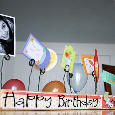 2×4 to Happy Birthday Board{{tutorial}}