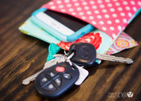 Make Your Own Key Chain Wallet How Does She