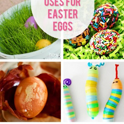 50 Creative Ways To Use Easter Eggs