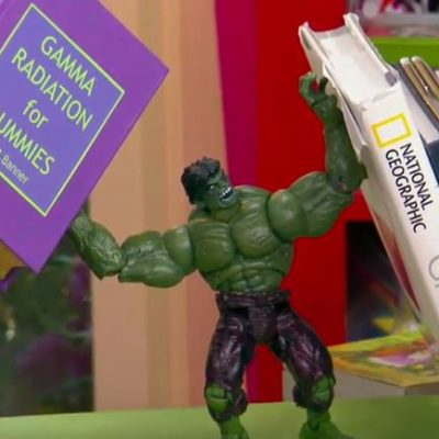 DIY Superhero Book Ends
