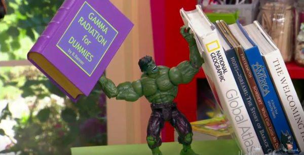 super hero book ends