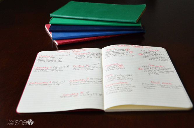 7 Tips to organize your life with a simple notebook (12)
