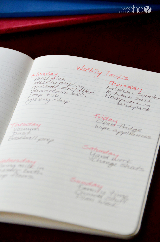 7 Tips to organize your life with a simple notebook (6)