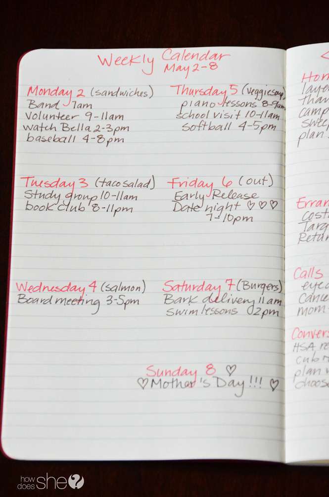 7 Tips to organize your life with a simple notebook (8)