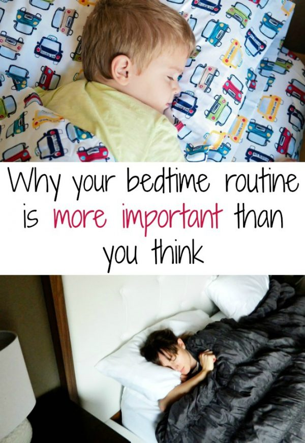 Bedtime routine 2