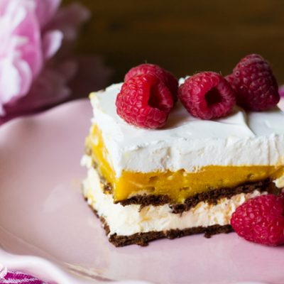 Berry Mango Ice Cream Sandwich Dessert