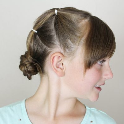 Braided Buns that Work with Layers