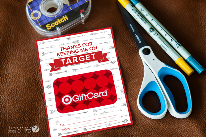 Creative gift card ideas for teachers with free printable (3)