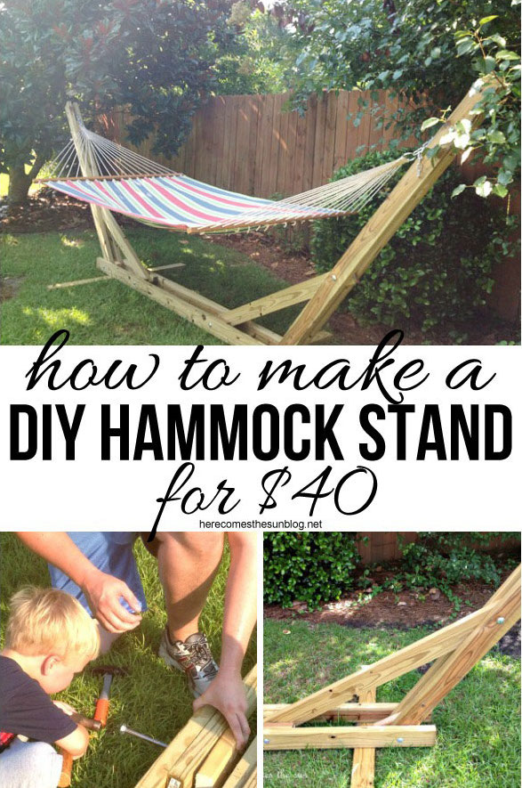 diy hammock 1 14 diy hammocks and hanging swings to make summer naps awesome      rh   howdoesshe