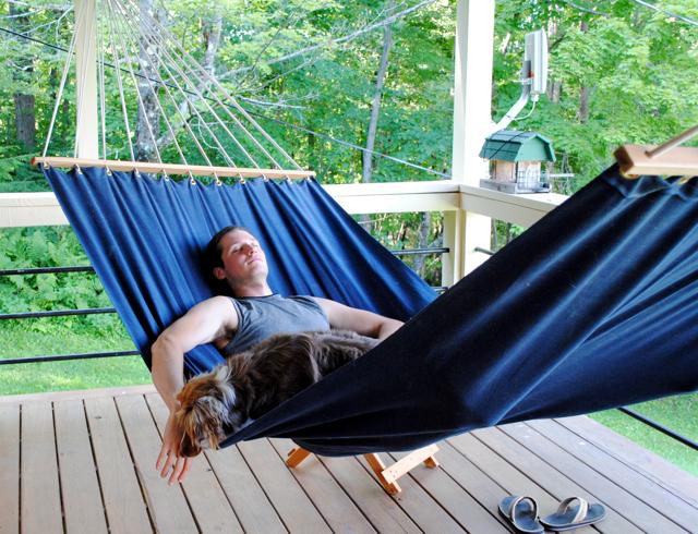 DIY hammock 5