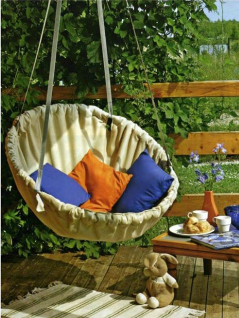 14 diy hammocks and hanging swings to make summer naps for How to build a swing set for adults
