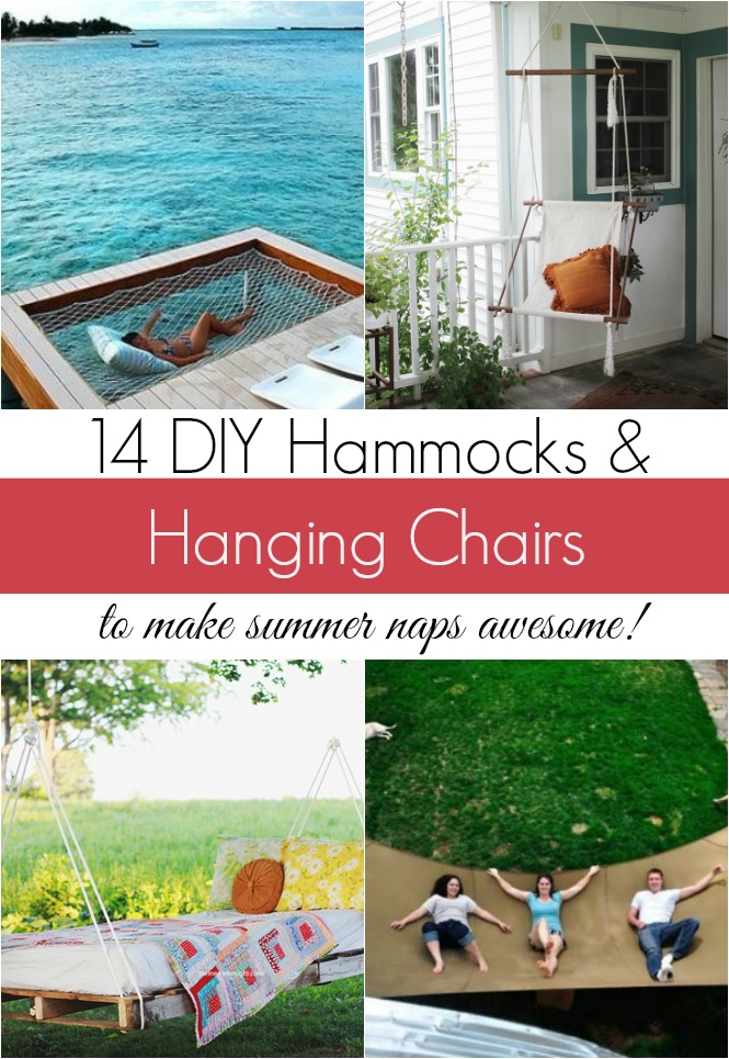 DIY Hammocks And Hanging Chairs