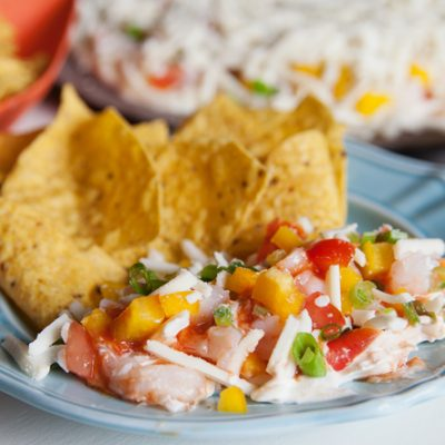 Amazing Layered Seafood Dip Recipe