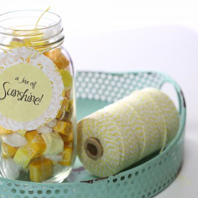 Easy Gift Idea – Create a Jar of Sunshine!