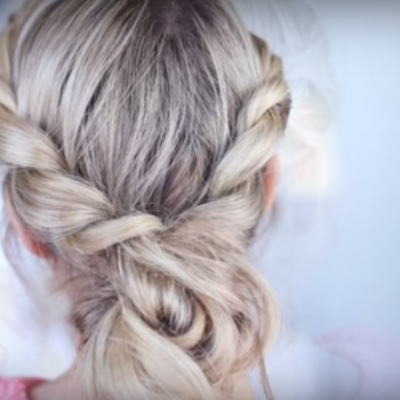 Twist Back Messy Bun – Fantastic and simple Updo