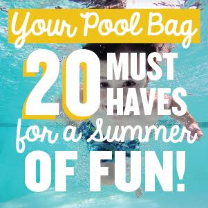 The Top 20 Things You NEED in Your Pool/Beach Bag