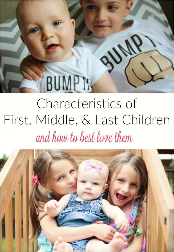 First, Middle, Last children