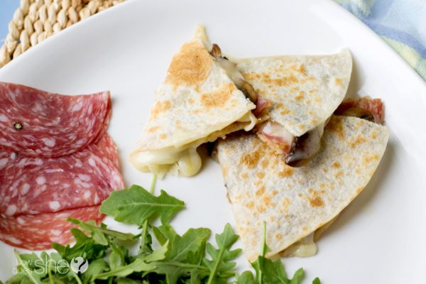 Fontina Quesadillas Try these three killer combinations (5)