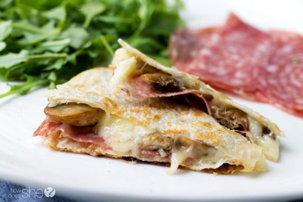 Fontina Quesadillas Try these three killer combinations (7)