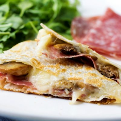 Fontina Quesadillas:  Try these three killer combinations!
