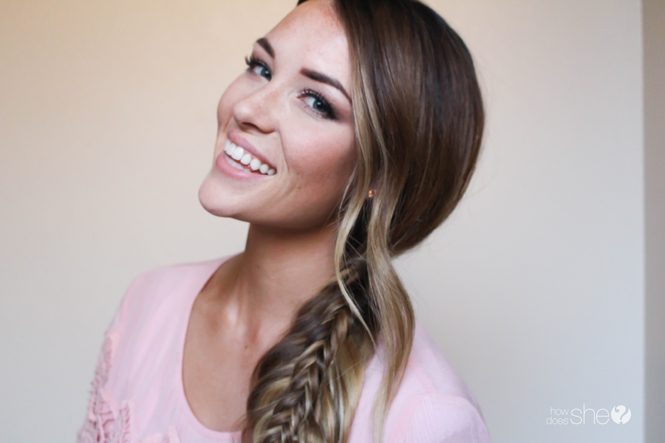 How to Stack a Fishtail Braid (2)
