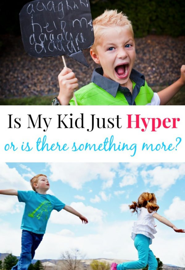 Hyperactivity in kids