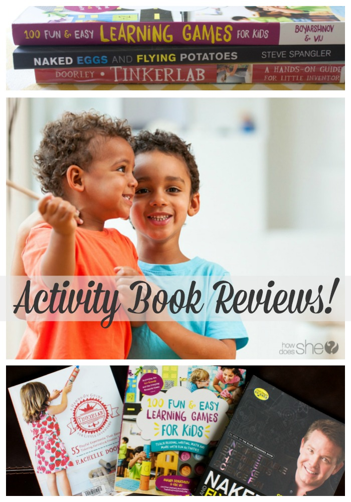 Activity Book Reviews for Kids