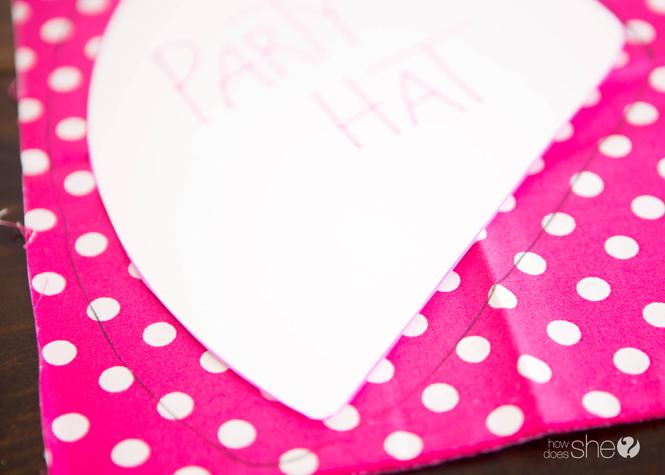 Kids' Party Hat - Pom Pom Style (3)