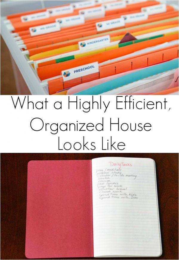 Organized house 8
