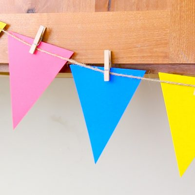 Make an Easy Pennant Banner – Perfect for Decorations!
