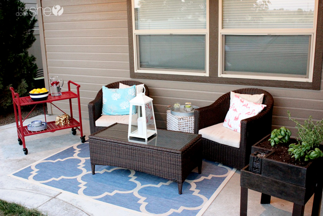 Beautiful Patio Makeover Ideas For Your Real Life Home And Real Life Budget How Does She