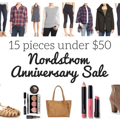 Nordstrom Anniversary Sale: 15 under $50!