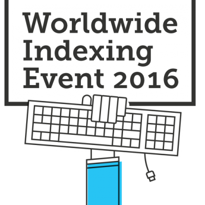 Join me this weekend from your own home for the Worldwide Indexing Event!