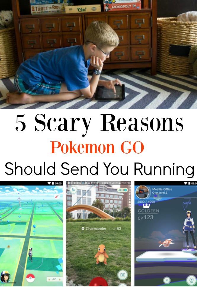 Scary Reasons Pokemon Go