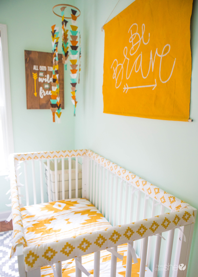 padded crib rail cover tutorial (15)
