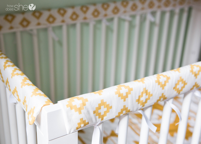 padded crib rail cover tutorial (19)